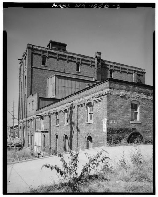 Union Depot Area Study, Pacific Brewing & Malting Company, 2500 Holgate Street, Tacoma, Pierce County, WA