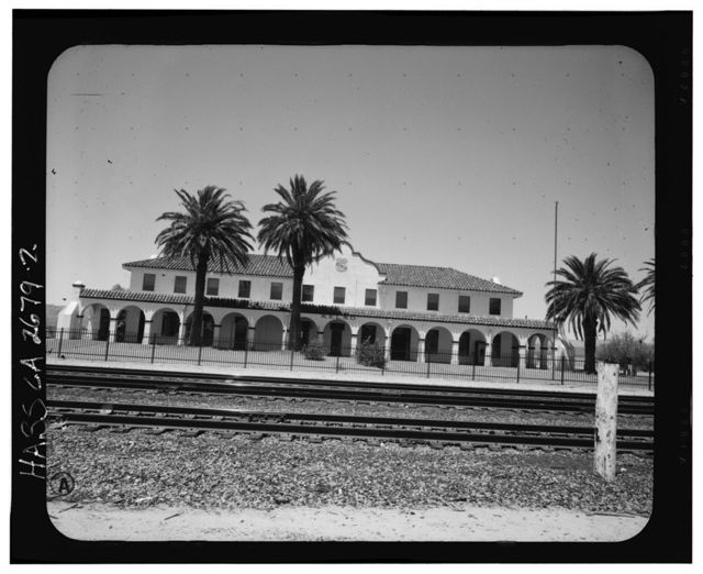 Union Pacific Railroad Depot, Intersection of Kelbaker & Kelso Cima Roads, Kelso, San Bernardino County, CA