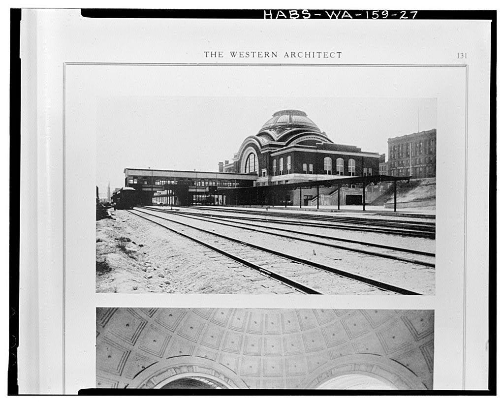 Union Passenger Station Concourse, 1713 Pacific Avenue, Tacoma, Pierce County, WA