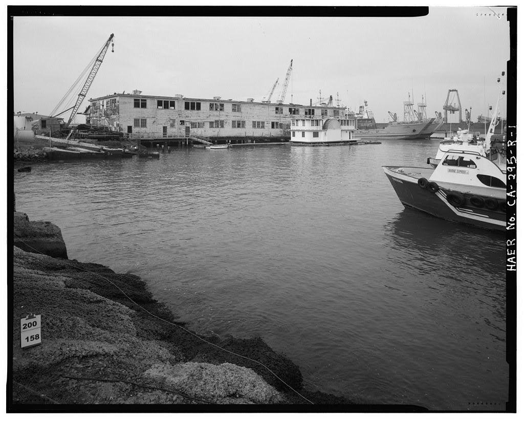 United Engineering Company Shipyard, Wet Basin, 2900 Main Street, Alameda, Alameda County, CA