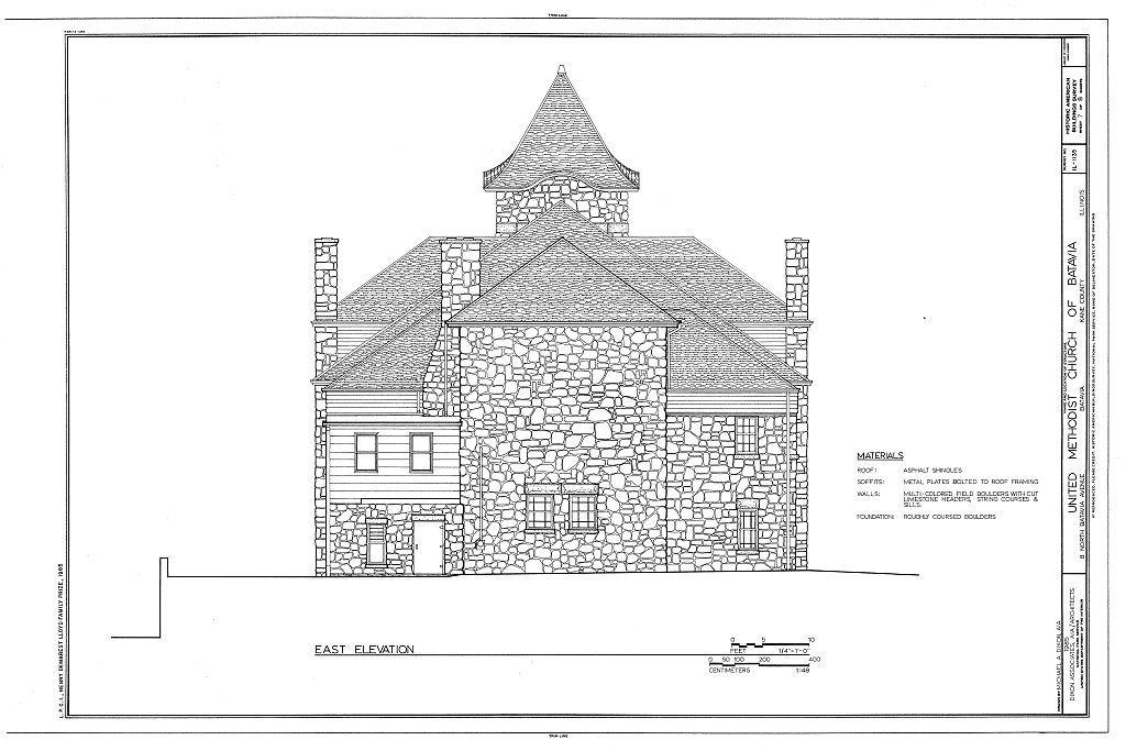United Methodist Church of Batavia, 8 North Batavia Avenue, Batavia, Kane County, IL