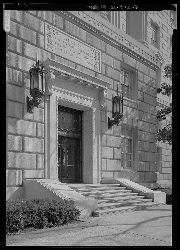 United States Department of Commerce, Bounded by Fourteenth, Fifteenth, and E streets and Constitution Avenue, Washington, District of Columbia, DC