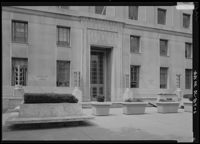 United States Department of Justice, Constitution Avenue between Ninth & Tenth Streets, Northwest, Washington, District of Columbia, DC