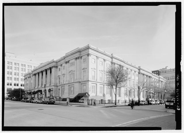 United States General Post Office, Between Seventh, Eighth, E, & F Streets, Northwest, Washington, District of Columbia, DC