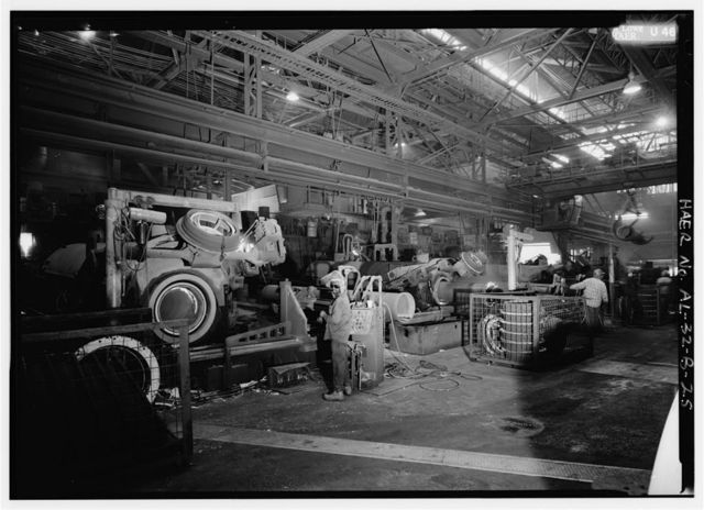 United States Pipe & Foundry Company Plant, Pipe Casting & Testing Area, 2023 St. Louis Avenue at I-20/59, Bessemer, Jefferson County, AL
