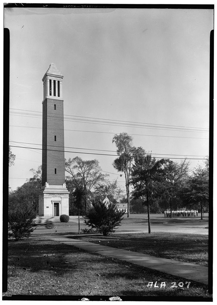 University of Alabama, Denny's Tower, University Avenue, Tuscaloosa, Tuscaloosa County, AL