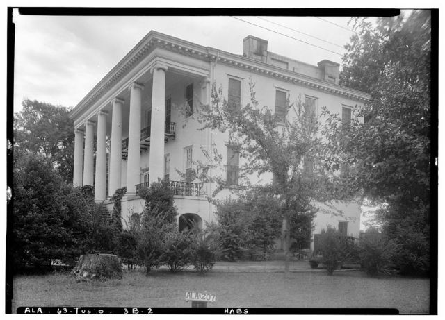 University of Alabama, President's House, University Boulevard, Tuscaloosa, Tuscaloosa County, AL