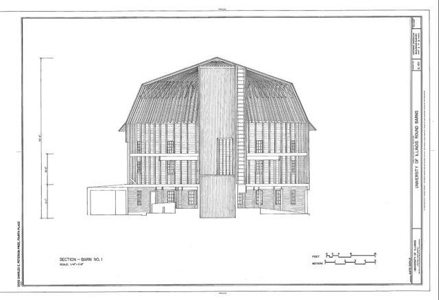 University of Illinois Round Barns, Urbana, Champaign County, IL