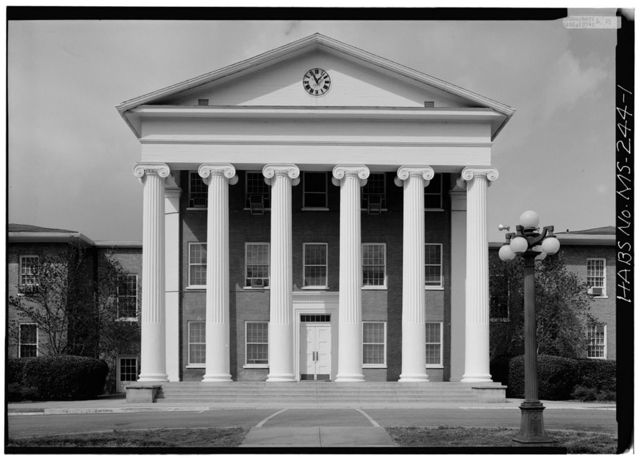 University of Mississippi, Lyceum Building, University Circle, Oxford, Lafayette County, MS