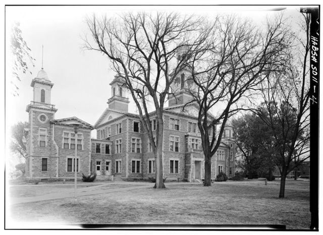 University of South Dakota, University Hall, Clark Street, Vermillion, Clay County, SD