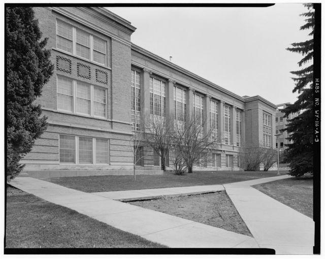 University of Wyoming Campus, Library, East of Ninth Street & North of Ivinson Avenue, Laramie, Albany County, WY