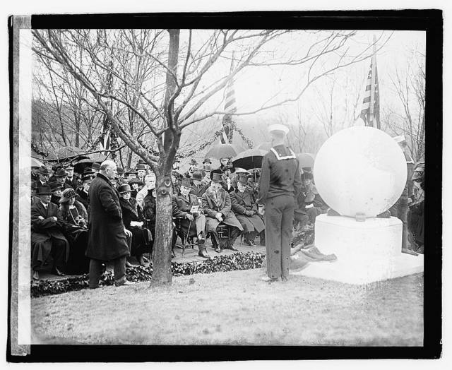 Unveiling Perry monument, 4/6/22