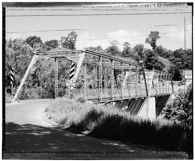 Upper Bridge, River Street, spanning AuSable River, Keeseville, Essex County, NY