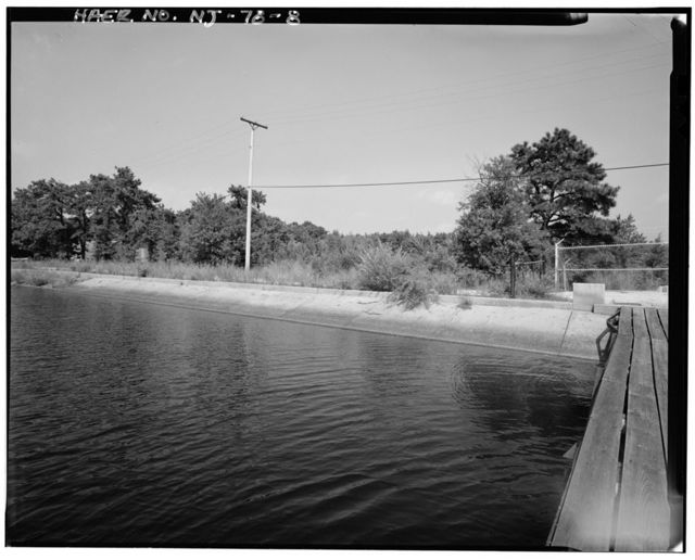 Upper Doughty Dam, 200 feet west of Garden State Parkway, 1.7 miles west of Absecon, Egg Harbor City, Atlantic County, NJ