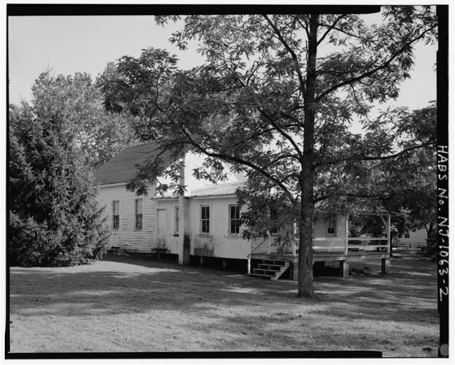 Upper Evesham Friends Meeting School House, 14 Union Street (rear), Medford, Burlington County, NJ