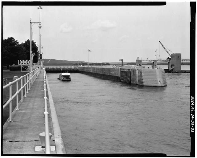 Upper Mississippi River 9-Foot Channel, Lock & Dam No. 10, Guttenberg, Clayton County, IA