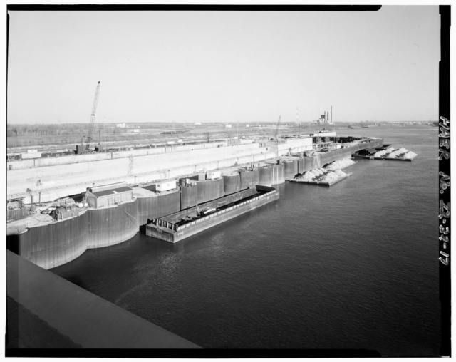 Upper Mississippi River 9-Foot Channel Project, Lock & Dam 26R, Alton, Madison County, IL
