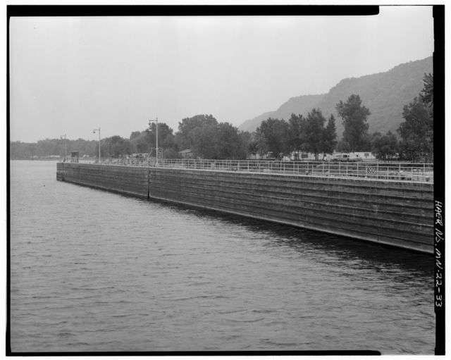 Upper Mississippi River 9-Foot Channel Project, Lock & Dam No. 5, Minneiska, Winona County, MN