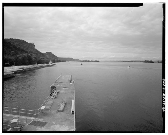 Upper Mississippi River 9-Foot Channel Project, Lock & Dam No. 7, Dresbach, Winona County, MN