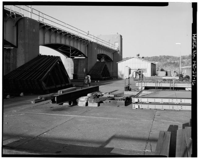 Upper Mississippi River Nine-Foot Channel Project, Lock & Dam No. 25, Cap au Gris, Lincoln County, MO