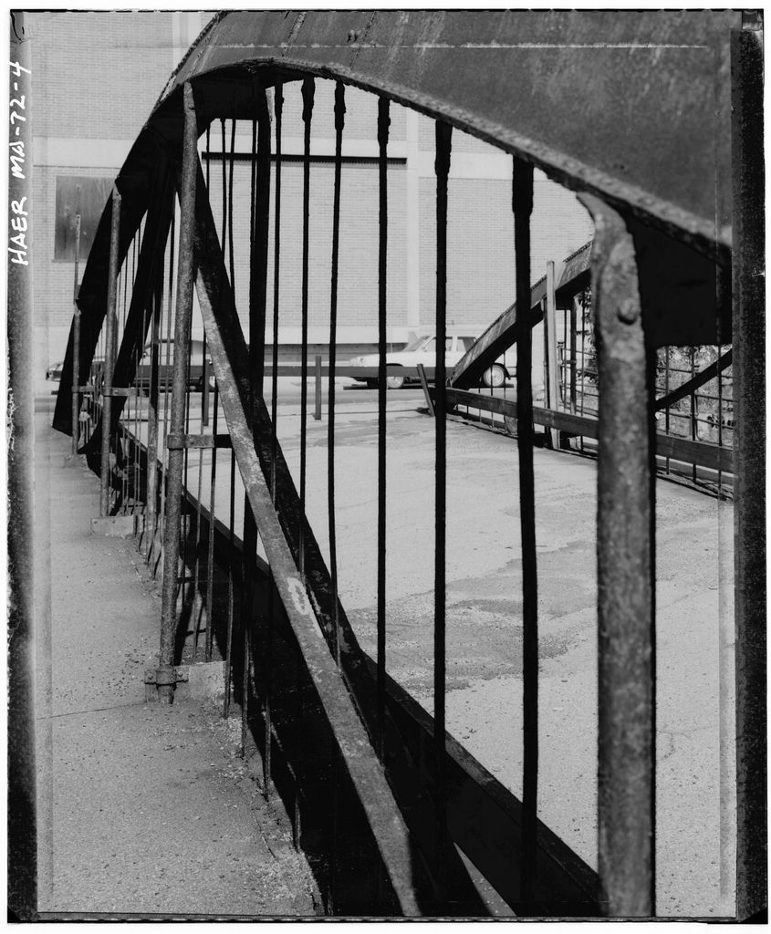 Upper Pacific Mills Bridge, Moved to Merrimack College, North Andover, MA, Lawrence, Essex County, MA