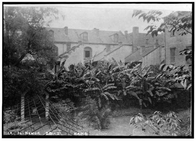 Ursuline's Row Houses, 1107-1133 Decatur Street (Commercial Buildings), New Orleans, Orleans Parish, LA