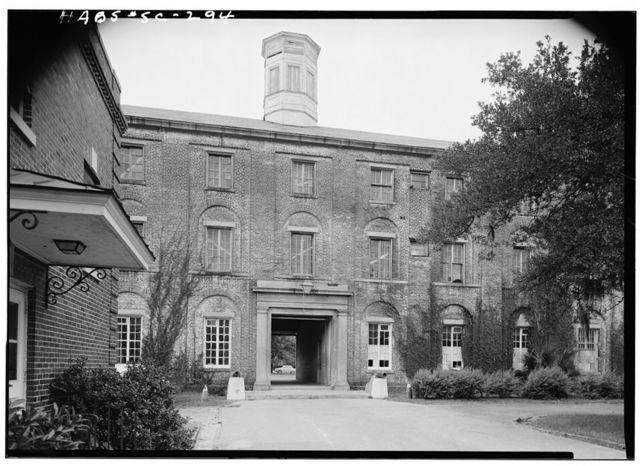 U.S. Arsenal, Main Building, 167 Ashley Avenue, Charleston, Charleston County, SC