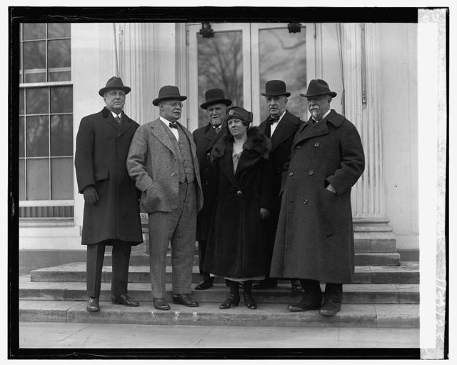 US Board of Indian Commissioners at W.H., 1/21/25