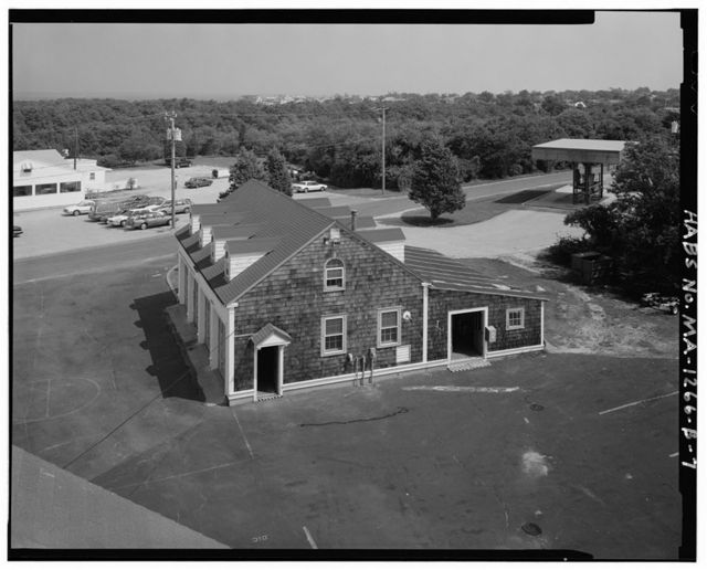 U.S. Coast Guard Cape Cod Canal Station, Equipment Building, Off Coast Guard Road, about 1 mile north of U.S. Route 6A intersection, Sandwich, Barnstable County, MA
