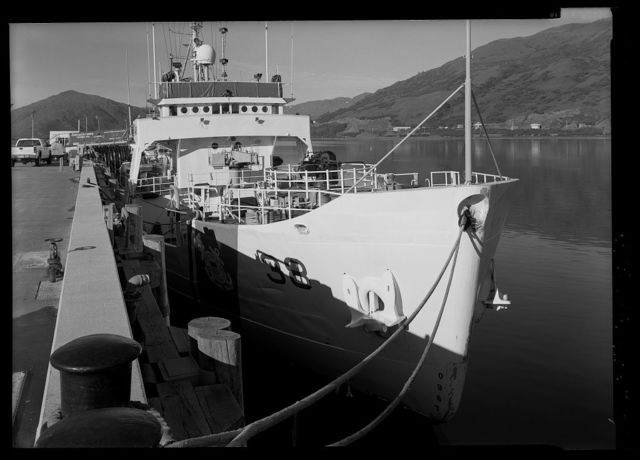 US Coast Guard Cutter STORIS, Womens Bay, Kodiak, Kodiak Island Borough, AK