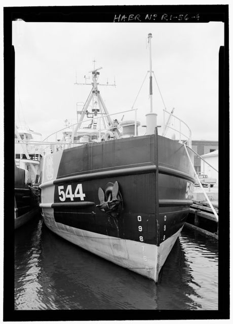 U.S. Coast Guard Cutter WHITE SAGE, U.S. Coast Guard 1st District Base, 1 Thames Street, Bristol, Bristol County, RI