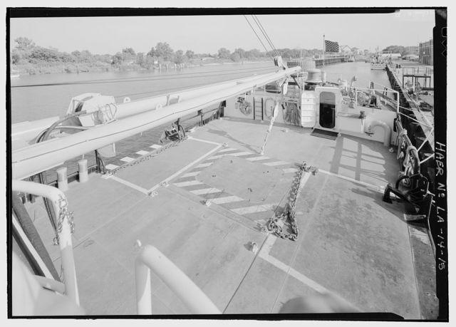 U.S. Coast Guard Cutter WHITE SUMAC, U.S. Coast Guard 8th District Base, 4640 Urquhart Street, New Orleans, Orleans Parish, LA