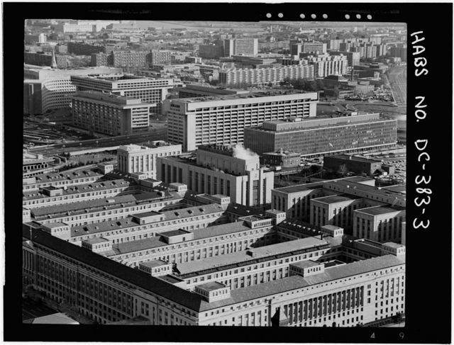 U.S. General Services Administration, Central Heating Plant, C & D Streets between Twelfth & Thirteenth Streets Southwest, Washington, District of Columbia, DC