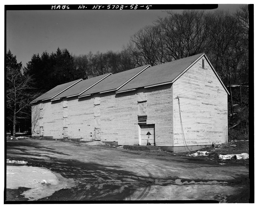 U.S. Military Academy, Ice House, Mills Road at Howze Place, West Point, Orange County, NY