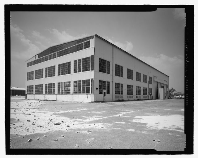 U.S. Naval Air Station, Seaplane Hangar, 521 South Avenue, Pensacola, Escambia County, FL