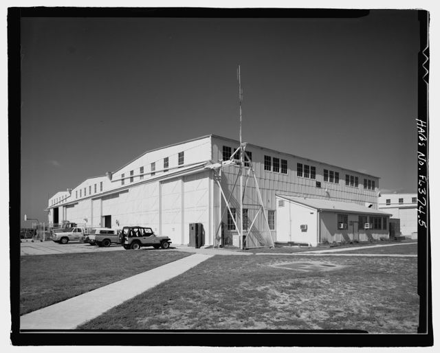 U.S. Naval Air Station, Seaplane Hangar, Pensacola, Escambia County, FL