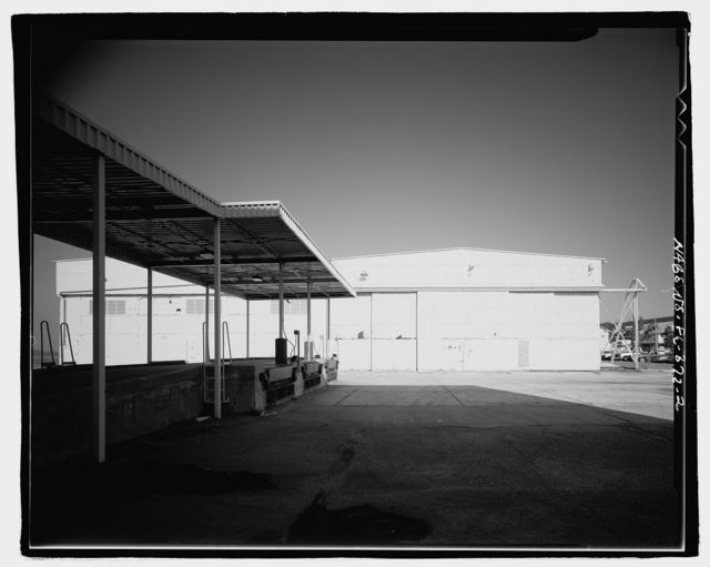 U.S. Naval Air Station, Seaplane Hangar, Pensacola, Escambia County, FL