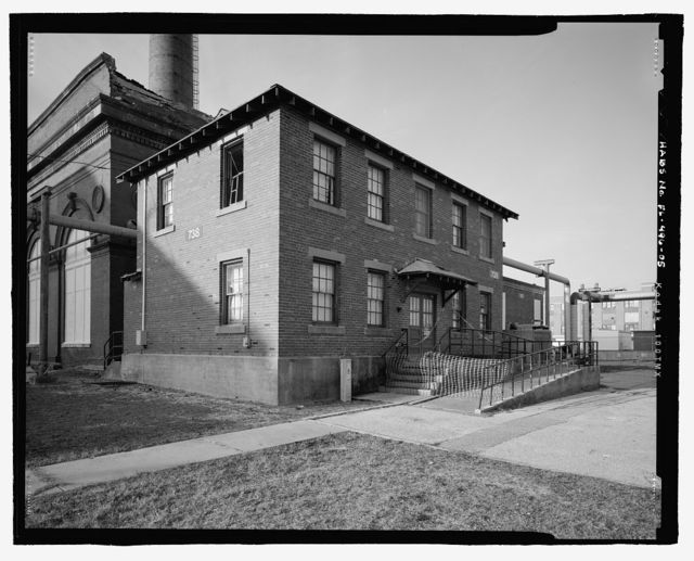 U.S. Naval Air Station, Telephone Workshop & Storehouse, Mustin Avenue, Pensacola, Escambia County, FL