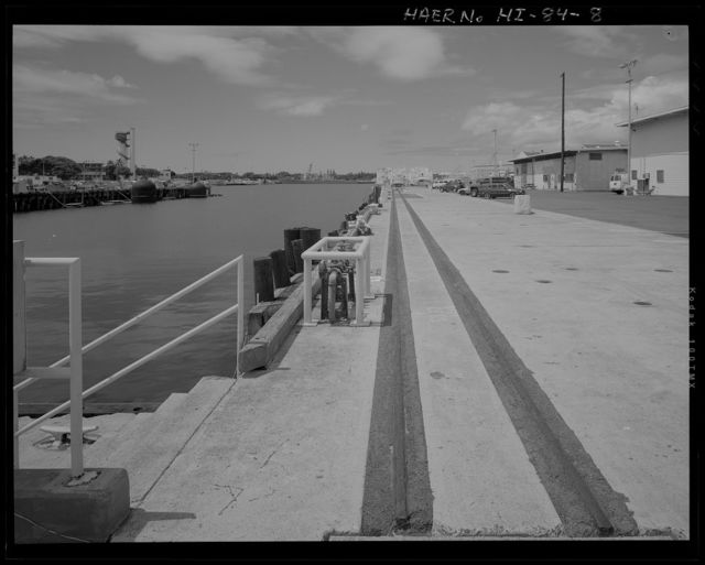 U.S. Naval Base, Pearl Harbor, Additional Piers and Quay Walls, S13 to S19, Northeast end of Magazine Loch, Pearl City, Honolulu County, HI