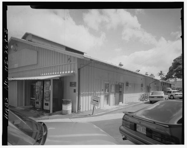 U.S. Naval Base, Pearl Harbor, Administration Building, North waterfront & Morton Street near Berth S-11, Pearl City, Honolulu County, HI