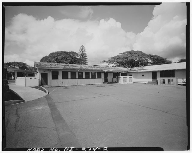 U.S. Naval Base, Pearl Harbor, Alcohol Rehabilitation Center, Nimitz Spur between Sixth Street & Naval Station North Road, Pearl City, Honolulu County, HI