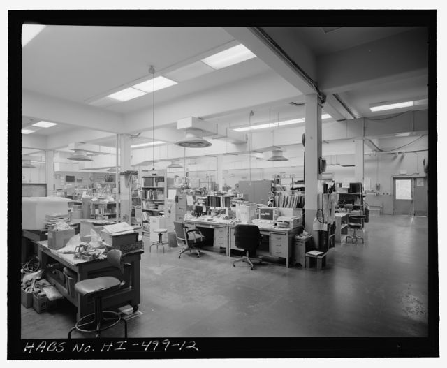 U.S. Naval Base, Pearl Harbor, Auxiliary Machine & Electric Shop, Avenue G near Fifth Street intersection, Pearl City, Honolulu County, HI