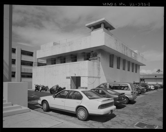 U.S. Naval Base, Pearl Harbor, Bombproof Personnel Shelter, Enterprise Street and St. Lo Avenue, Pearl City, Honolulu County, HI