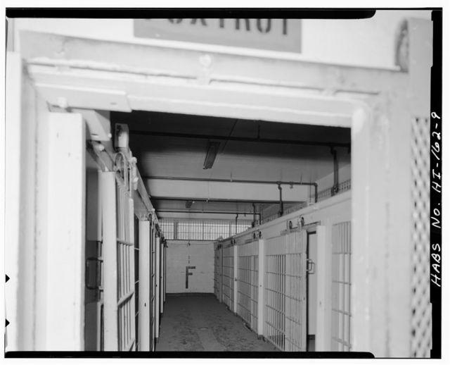 U.S. Naval Base, Pearl Harbor, Brig, Neville Way near Ninth Street at Marine Barracks, Pearl City, Honolulu County, HI
