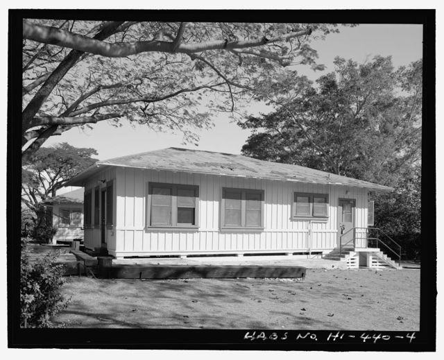 U.S. Naval Base, Pearl Harbor, Chief Petty Officer's Quarters, 28 Belleau Wood Loop, Pearl City, Honolulu County, HI