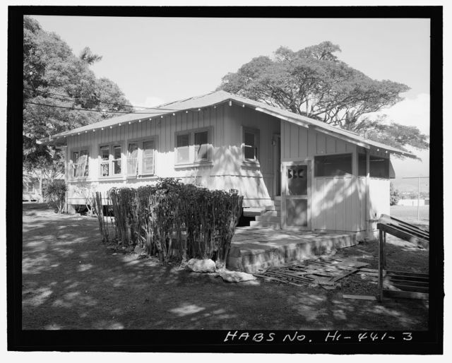 U.S. Naval Base, Pearl Harbor, Chief Petty Officer's Quarters, 29 Belleau Wood Loop, Pearl City, Honolulu County, HI