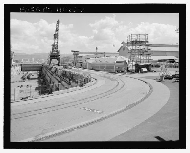 U.S. Naval Base, Pearl Harbor, Dry Dock No. 1, On northern shoreline of shipyard, near intersection of Avenue G & Sixth Street, Pearl City, Honolulu County, HI