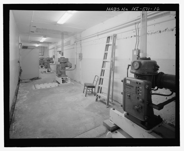 U.S. Naval Base, Pearl Harbor, Dry Dock No. 1, Pumpwell, By-Pass Valve & Saltwater Pumphouse, North end of Fifth Street, between Dry Dock No. 1 & Facility GD2 , Pearl City, Honolulu County, HI