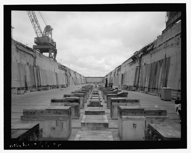 U.S. Naval Base, Pearl Harbor, Dry Dock No. 2, On northern shoreline of Shipyard, between Dry Dock Nos. 1 & 3, Pearl City, Honolulu County, HI