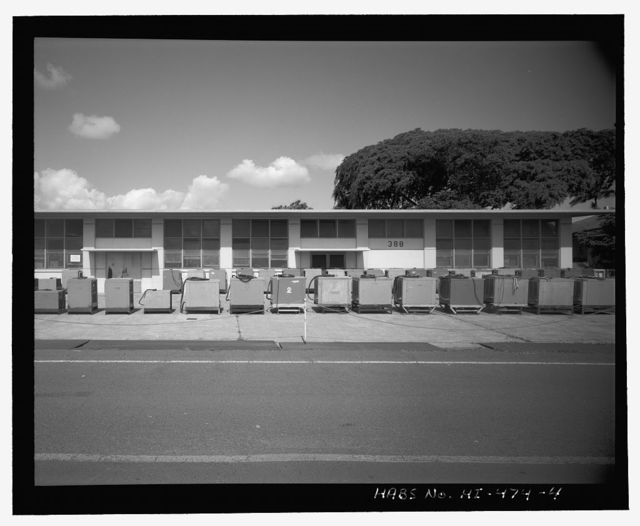 U.S. Naval Base, Pearl Harbor, Dry Dock No. 4, Galley, Third Street at intersection of Avenue I, Pearl City, Honolulu County, HI